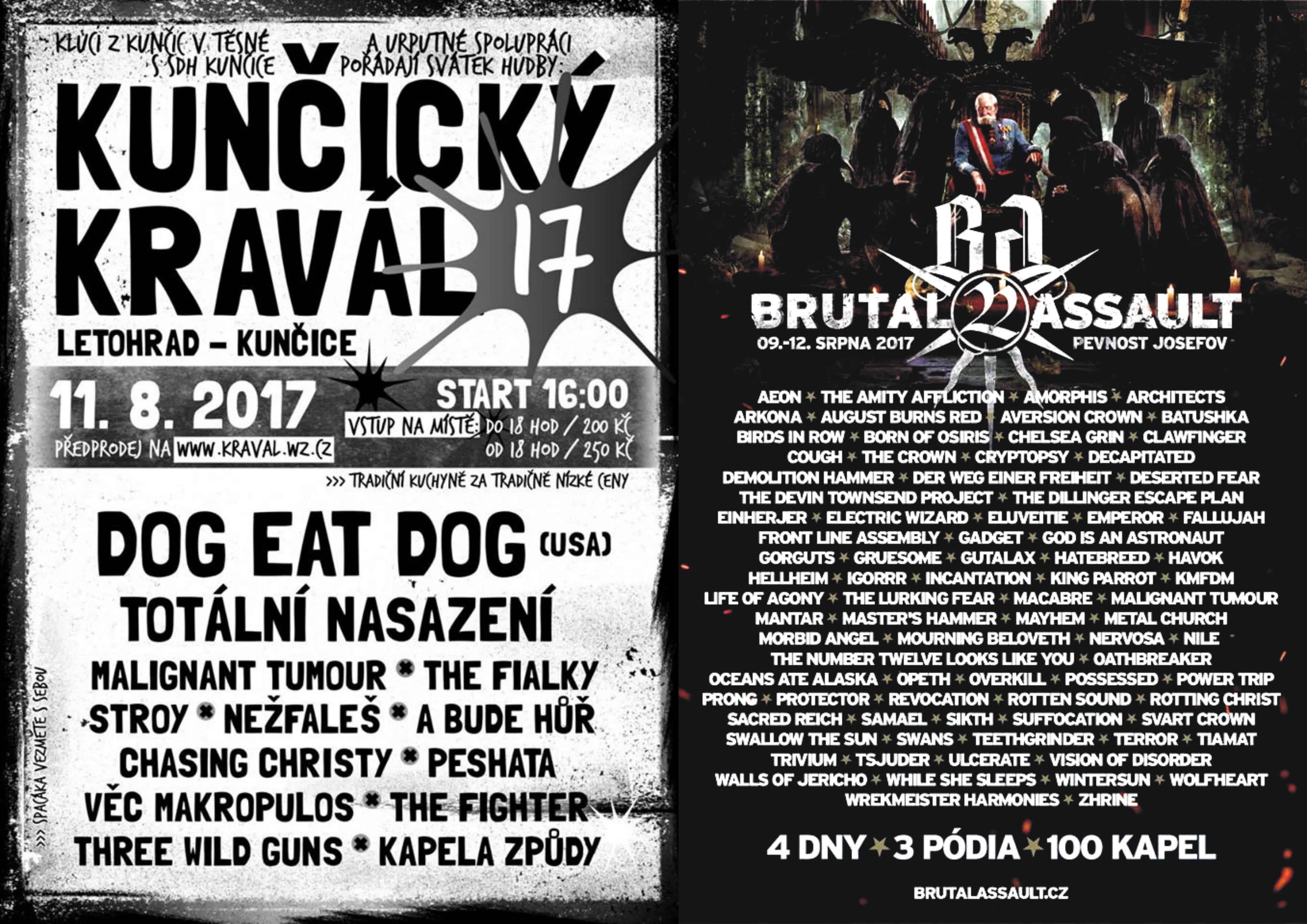 Kunčický Kravál & Brutal Assault