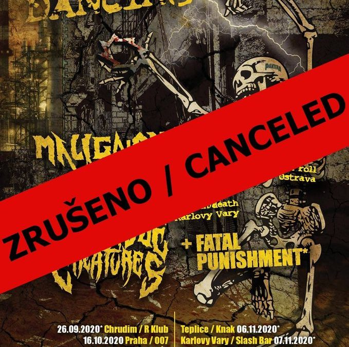 TOUR CANCELLED!!!
